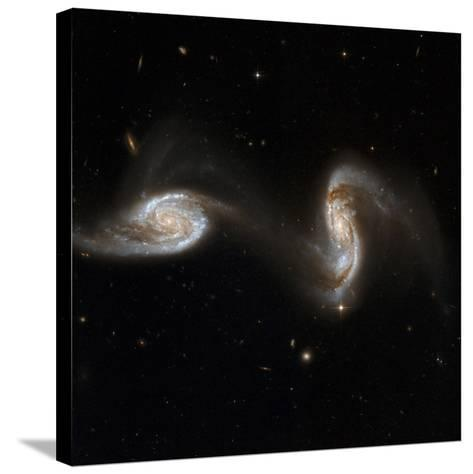 Interacting Galaxies NGC 5257 And 5258--Stretched Canvas Print