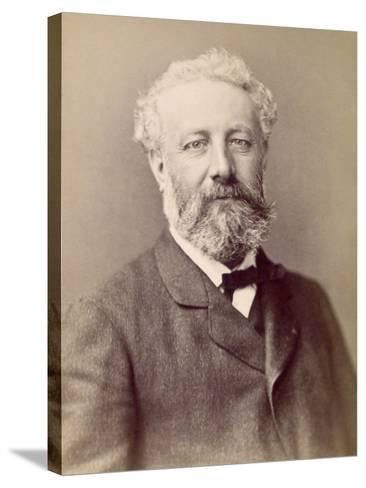 Jules Verne, French Novelist--Stretched Canvas Print