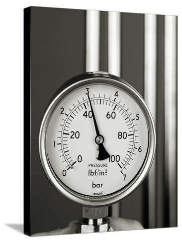 Pressure Gauge-Tony McConnell-Stretched Canvas Print