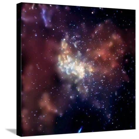 Sagittarius A, X-ray Image--Stretched Canvas Print
