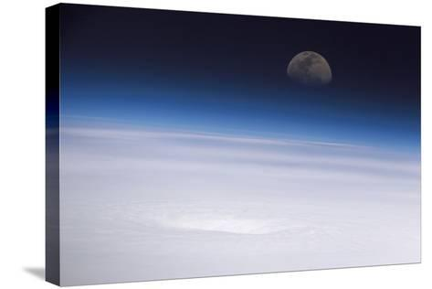 Hurricane Emily, ISS Image--Stretched Canvas Print