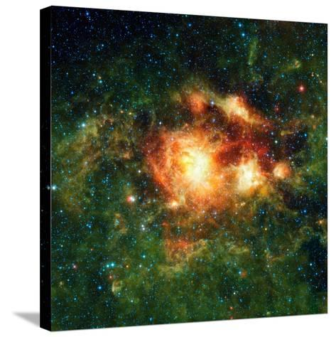 Star-birth Region, Space Telescope Image--Stretched Canvas Print