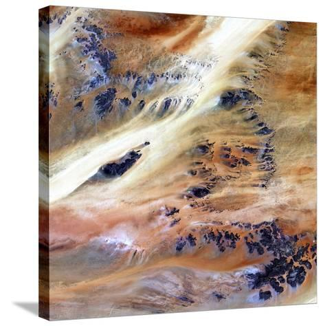 Sahara Desert, Chad--Stretched Canvas Print