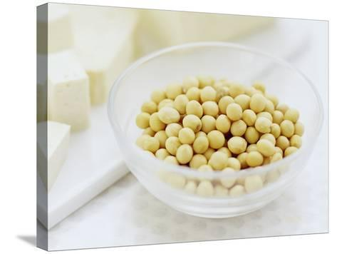 Soya Beans-David Munns-Stretched Canvas Print