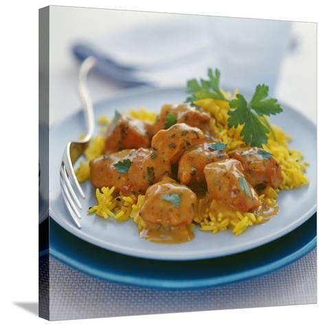 Chicken Curry-David Munns-Stretched Canvas Print