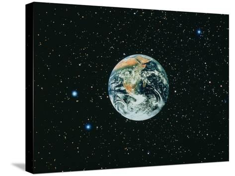 The Earth Seen From Apollo 17--Stretched Canvas Print