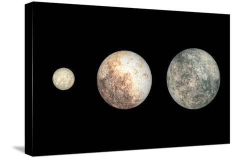 Dwarf Planets-Walter Myers-Stretched Canvas Print