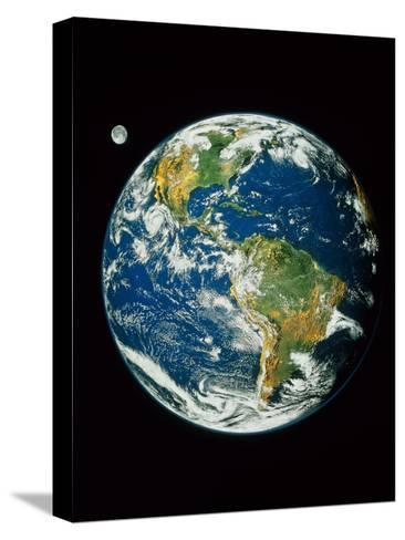 Whole Earth (Blue Marble 2000)--Stretched Canvas Print