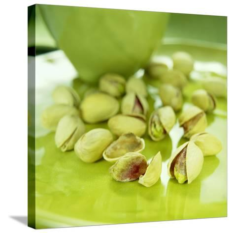 Pistachio Nuts-David Munns-Stretched Canvas Print