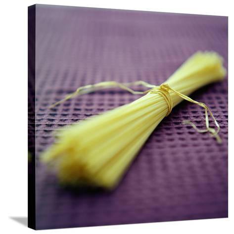 Spaghetti-David Munns-Stretched Canvas Print