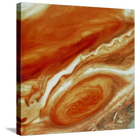 Great Red Spot on Jupiter--Stretched Canvas Print