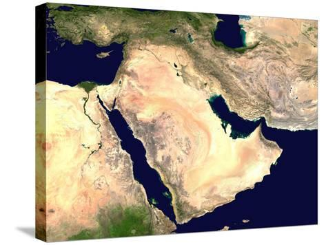 Middle East--Stretched Canvas Print