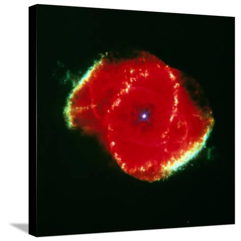 The Cat' Eye Nebula Seen From the Hubble Telescope--Stretched Canvas Print