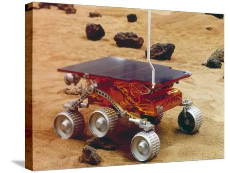 Model of the Mars Pathfinder Rover Sojourner--Stretched Canvas Print