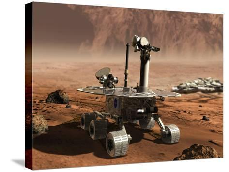 Mars Opportunity Rover--Stretched Canvas Print