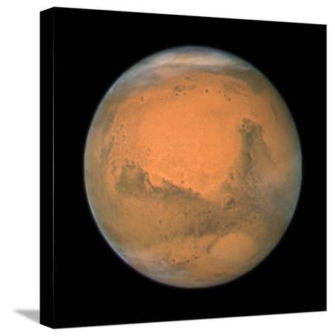 Mars Close Approach 2007, HST Image--Stretched Canvas Print