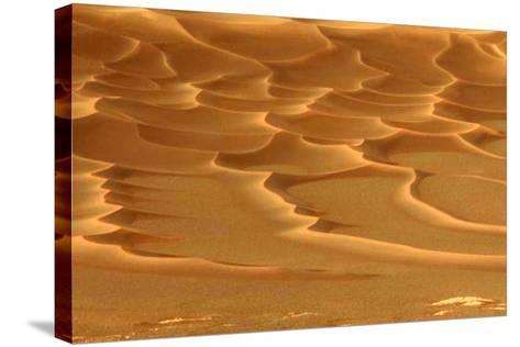 Martian Dunes, Endurance Crater--Stretched Canvas Print