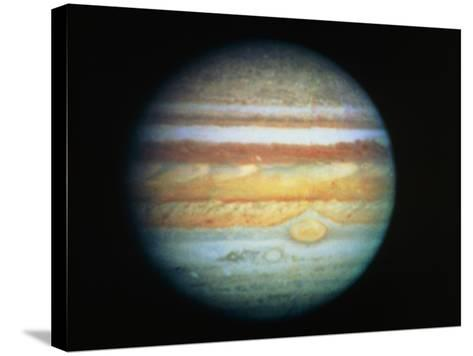 Image of Jupiter Taken with the Hubble Telescope--Stretched Canvas Print