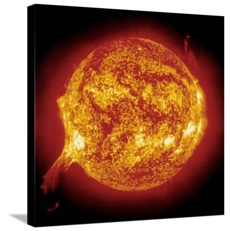 Solar Prominence--Stretched Canvas Print