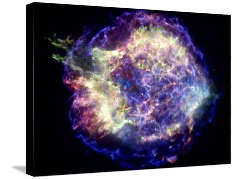 Supernova Remnant Cassiopeia A, X-ray--Stretched Canvas Print