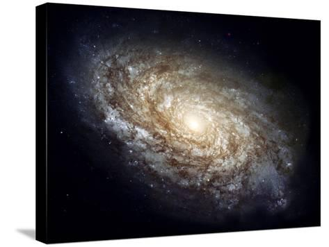 Spiral Galaxy NGC 4414--Stretched Canvas Print
