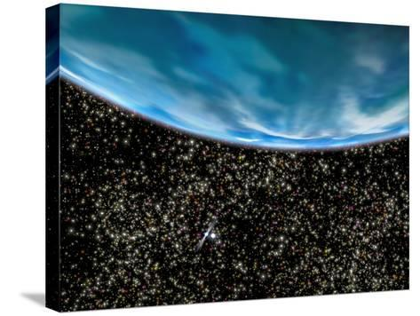 Ancient Planet In M4 Globular Cluster--Stretched Canvas Print