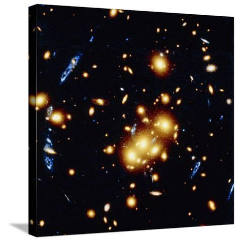 HST View of Gravitational Lens 0024+1654--Stretched Canvas Print