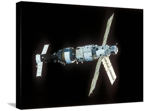 Mir Space Station-Ria Novosti-Stretched Canvas Print