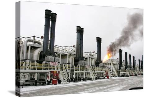 Oil Refinery-Ria Novosti-Stretched Canvas Print