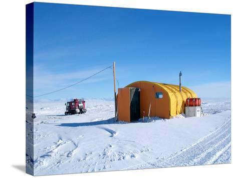 Antarctic Research Station, McMurdo Base-Ria Novosti-Stretched Canvas Print