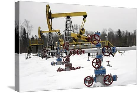 Oil Field-Ria Novosti-Stretched Canvas Print