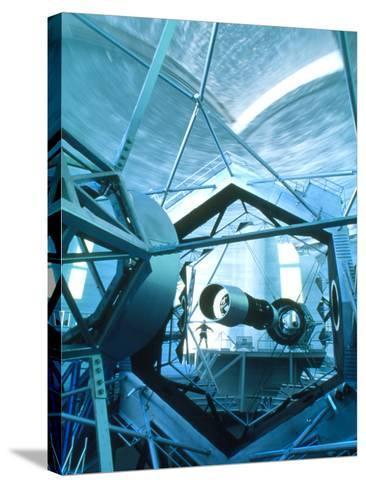 Primary Mirror of the Keck II Telescope, Hawaii-David Nunuk-Stretched Canvas Print