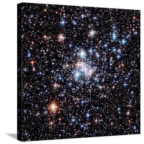 Open Star Cluster NGC 290-E. Olszewski-Stretched Canvas Print
