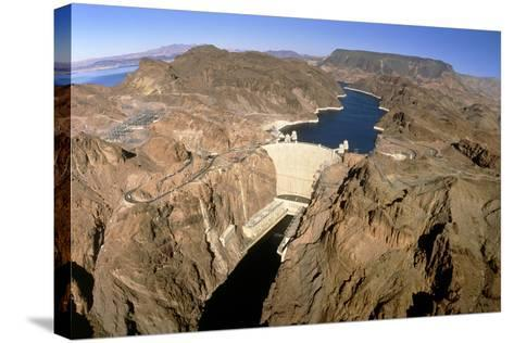 Hoover Hydroelectric Dam, Colorado River, USA-David Parker-Stretched Canvas Print