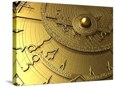 Astrolabe, Computer Artwork-PASIEKA-Stretched Canvas Print