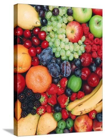 Fresh Fruit-David Parker-Stretched Canvas Print