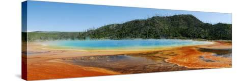 Hot Springs At Yellowstone National Park-Pekka Parviainen-Stretched Canvas Print