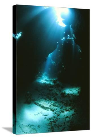 Underwater Cave-Alexis Rosenfeld-Stretched Canvas Print