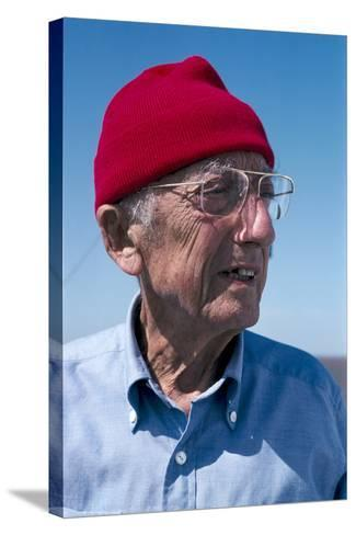Jacques-Yves Cousteau, French Diver-Alexis Rosenfeld-Stretched Canvas Print