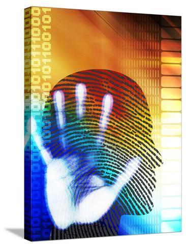 Forensic Science-PASIEKA-Stretched Canvas Print
