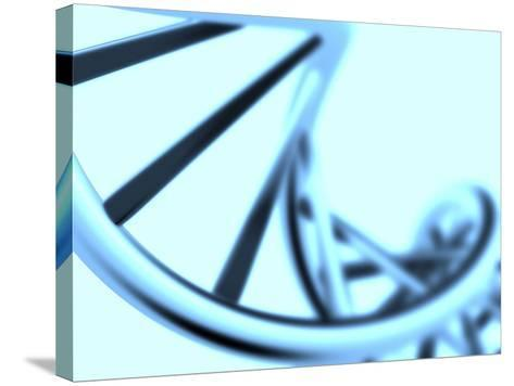 DNA Helix-PASIEKA-Stretched Canvas Print