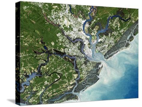 Charleston, South Carolina, USA-PLANETOBSERVER-Stretched Canvas Print