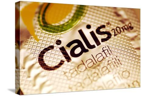 Cialis Packaging-PASIEKA-Stretched Canvas Print