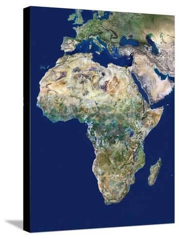 Africa-PLANETOBSERVER-Stretched Canvas Print
