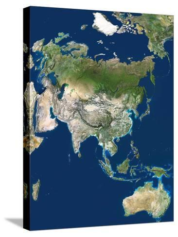 Asia-PLANETOBSERVER-Stretched Canvas Print