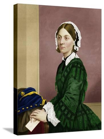 Florence Nightingale, Nursing Pioneer-Maria Platt-Evans-Stretched Canvas Print