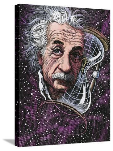 Albert Einstein, German Physicist-Bill Sanderson-Stretched Canvas Print