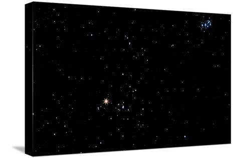 Aldebaran Star In the Constellation of Taurus-John Sanford-Stretched Canvas Print
