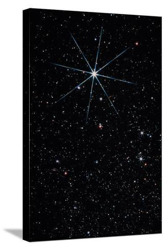 Star Vega In the Constellation of Lyra-John Sanford-Stretched Canvas Print