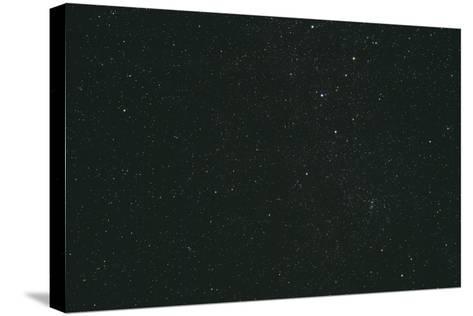 Cassiopeia Constellation-John Sanford-Stretched Canvas Print